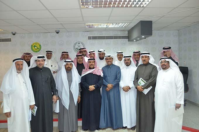 مجلس الشورى وفد من أعضاء مجلس الشورى يزور مركز المعلومات الوطني